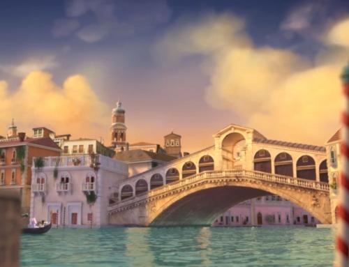 Modelado 3D para el teaser de «Serena and the enchanted island»